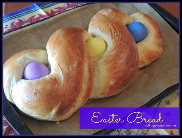 Easter Bread from Walking on Sunshine Recipes