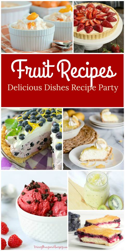 Fruit Dessert Recipes