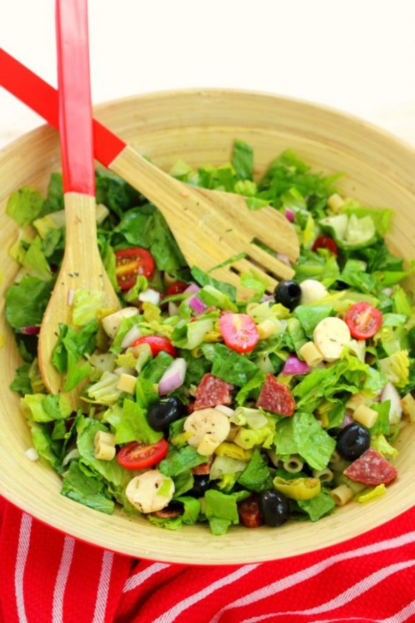 Italian Chopped Salad from Delightful E Made