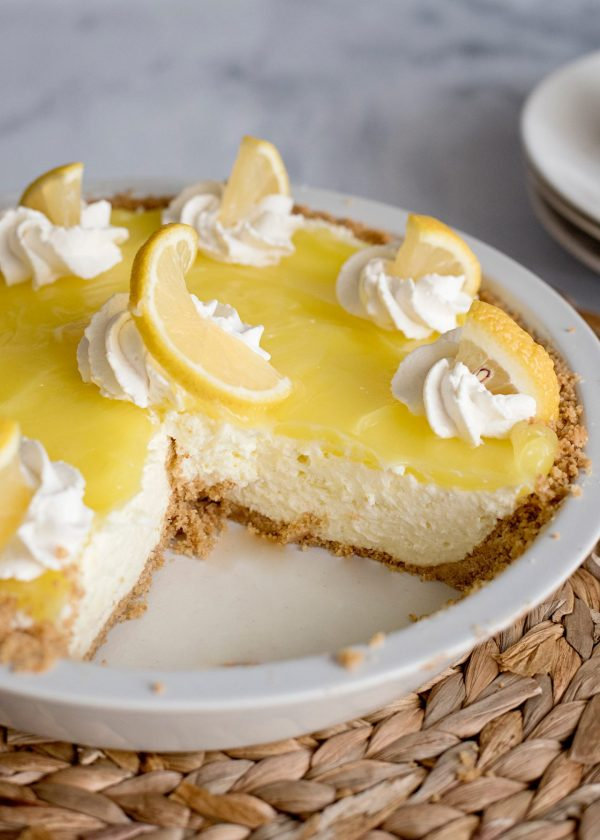 Lemon Cream Pie with Graham Cracker Crust