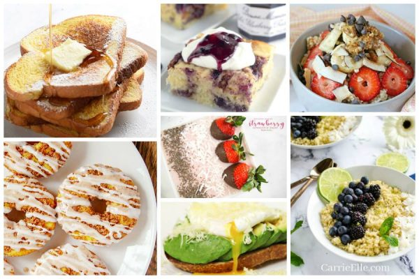 Mother's Day Breakfast in Bed Recipes