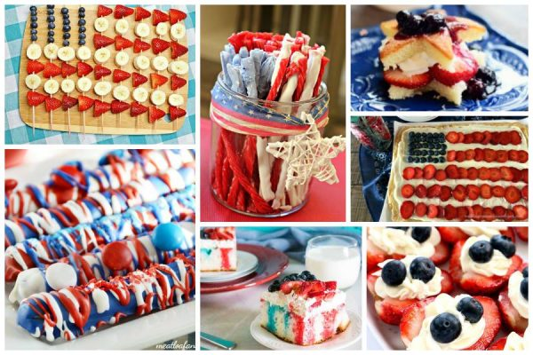 Red, White and Blue Patriotic Treats