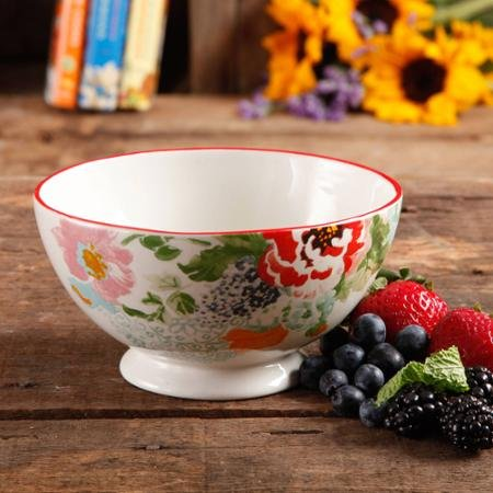 Footed Bowls - great for service, decor, or for serving dip!