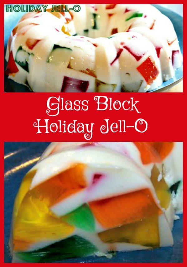 Glass Block Holiday Jell-O