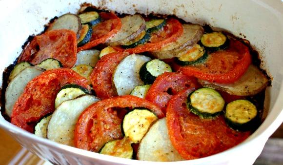 Parmesan Veggie Roast