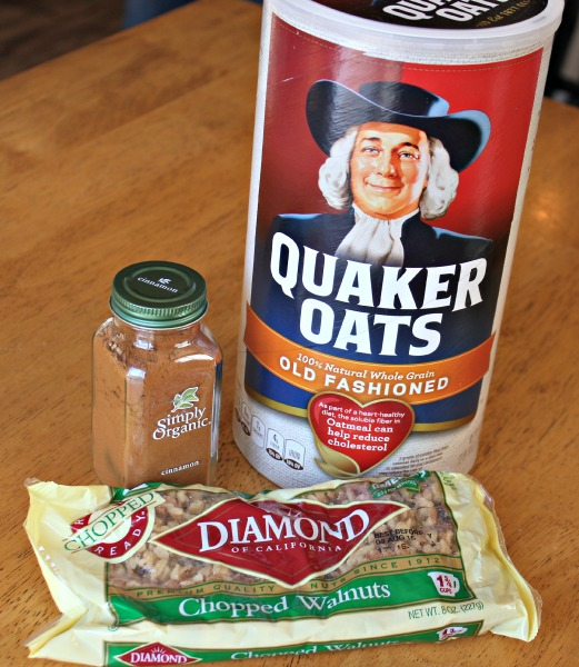 quaker oats and baking ingredients