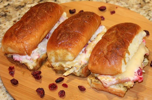 Leftover Thanksgiving Dinner Turkey Sliders
