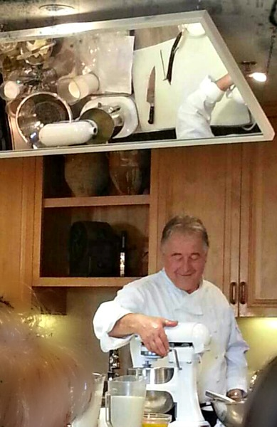 Chef Pierre Lagourge at Ramekins Cooking School