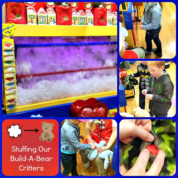 Build-A-Bear Stuffing Machine