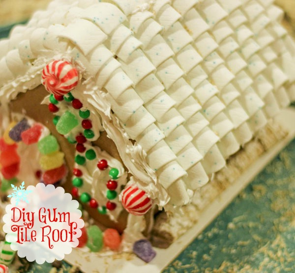 DIY Gum Tile Roof #GiveExtraGum #shop