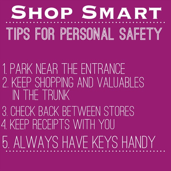 tips for personal safety