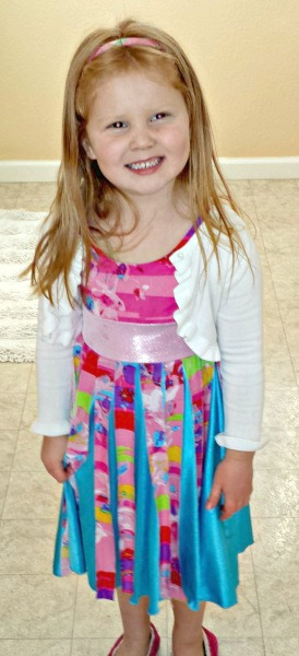 TwirlyGirl Pinwheel Dress