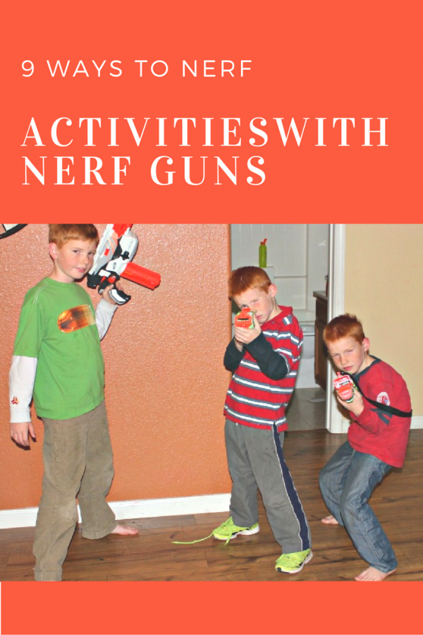 9 ways to Nerf: Unique Activities with Nerf Guns
