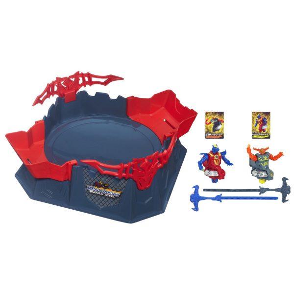 Beyblade Shogun Steel Octagon Showdown Battle Set: Going Bey-ond Your Average  Spinning Top With Beyblades