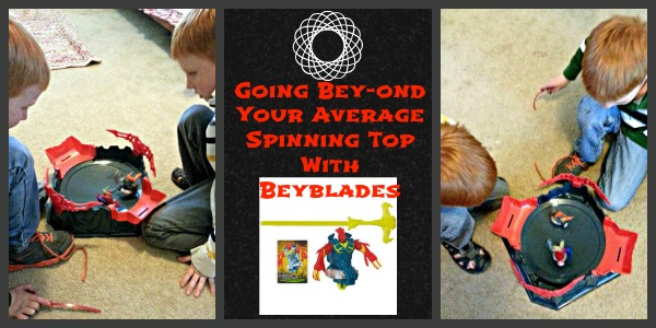 Going Bey-ond Your Average  Spinning Top With Beyblades
