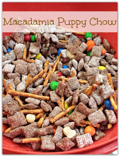 Macadamia Puppy Chow