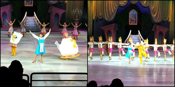 Beauty and the Beast Disney On Ice Rockin' Ever After