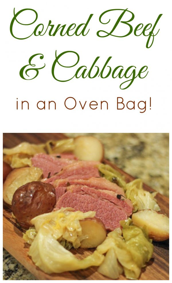 Corned Beef and Cabbage in an Oven Bag is an easy, delicious way to do St. Patrick's Day dinner