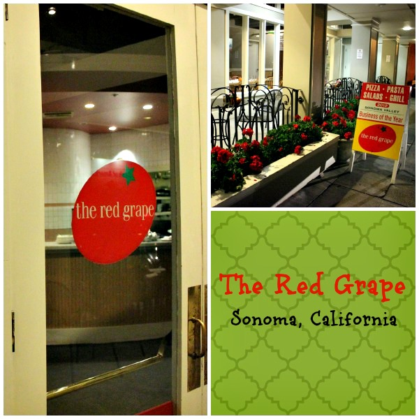 The Red Grape, Sonoma California