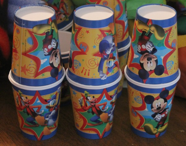 Disney Side Party Shakers