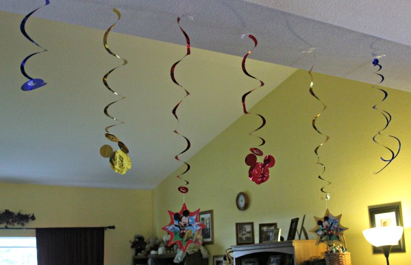 Disney Side Decorations