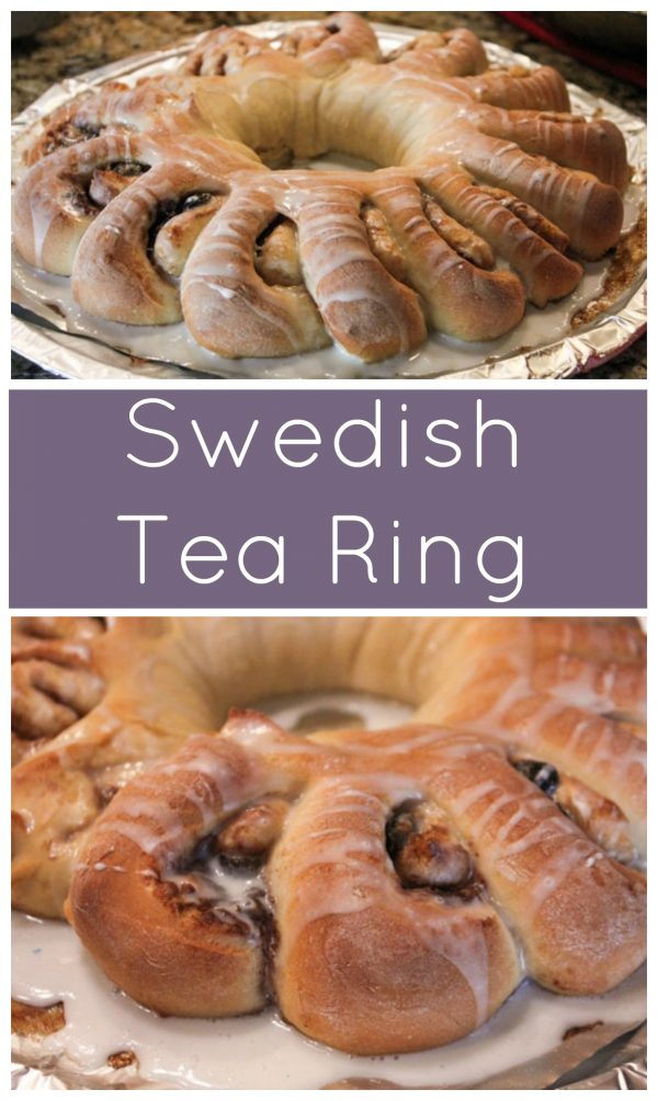 Swedish Tea Ring - similar to cinnamon rolls, but a beautiful display and a fun tradition!