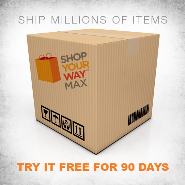 Shop Your Way Max FREE 2-day shipping