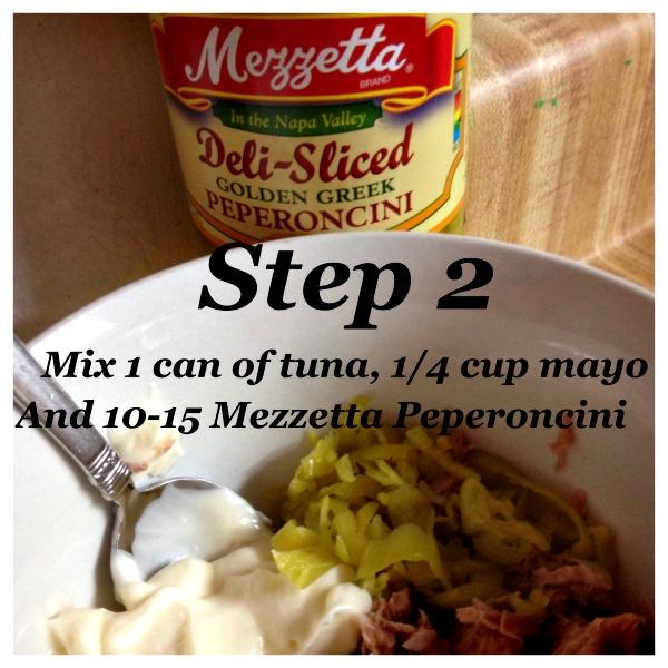 Sicilian Tuna Melt