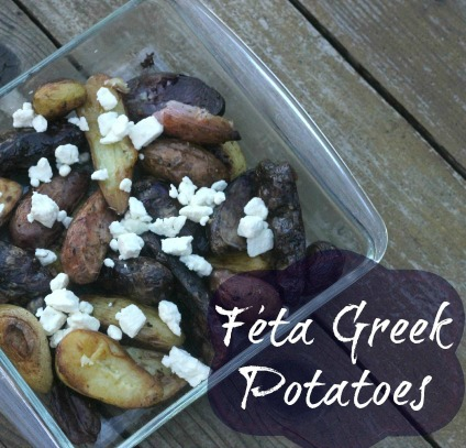 Feta Greek Fingerling Potatoes