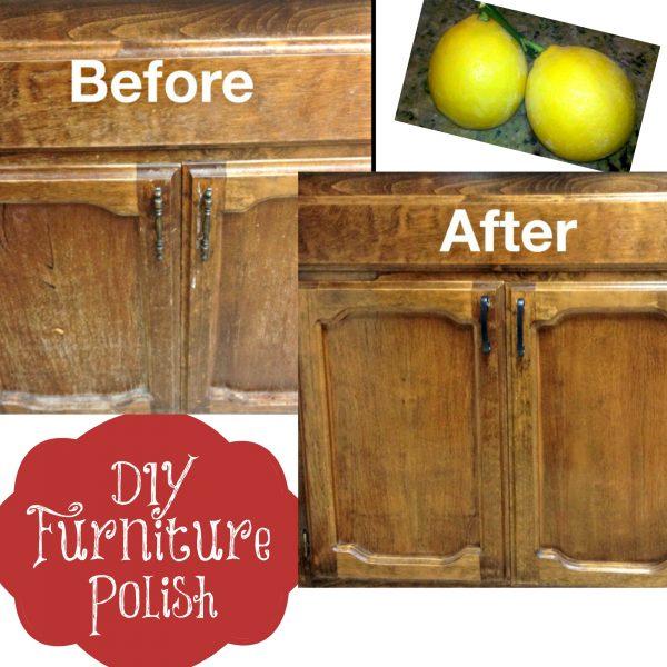 DIY Homemade Furniture Polish