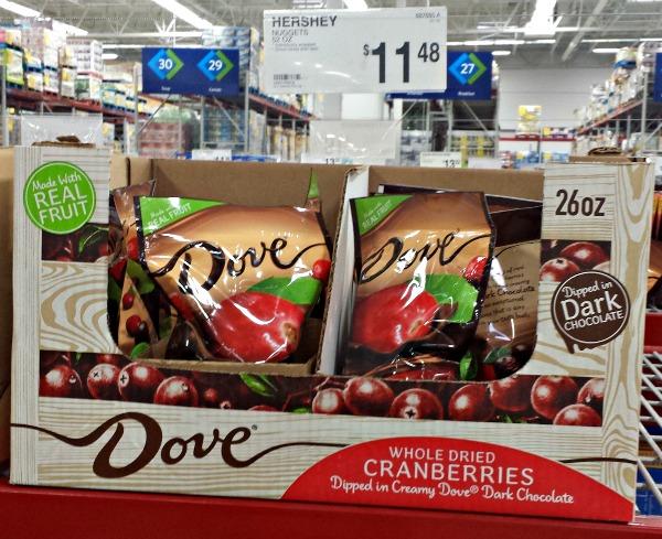 Dove Fruit Whole-Cranberry