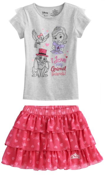 Sofia the First outfit by Jumping Beans At Kohl's