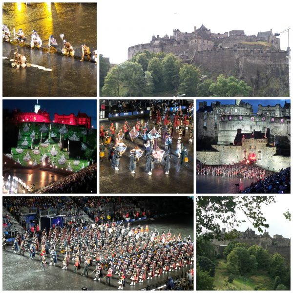 Military Tattoo in Edinburgh Scotland