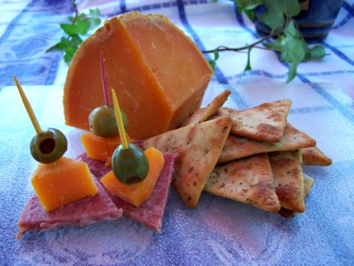 Mimolette Cheese appetizers