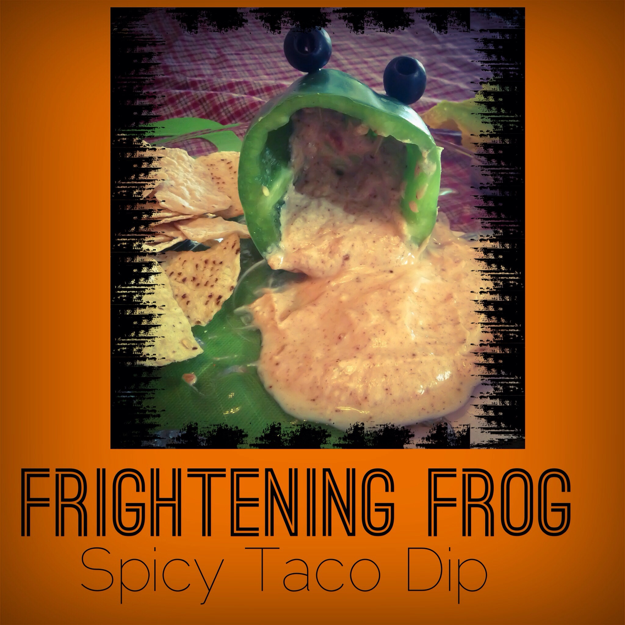 Frightening Frog Spicy Taco Dip