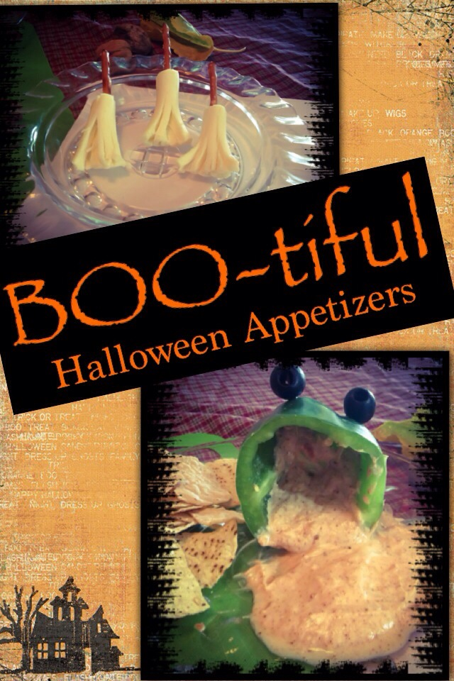 Boo-tiful Halloween Appetizers