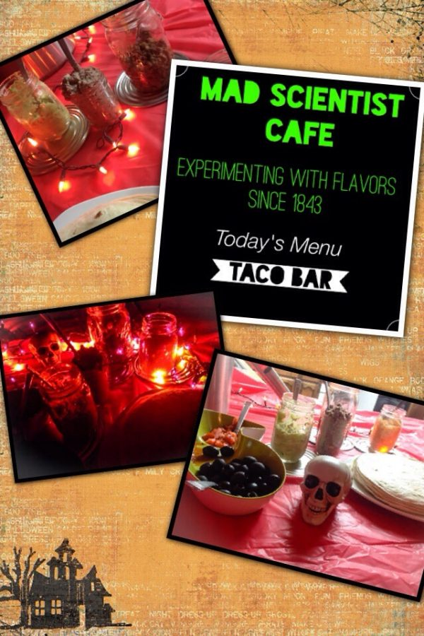 Mad Scientist Cafe: Taco Bar for Halloween