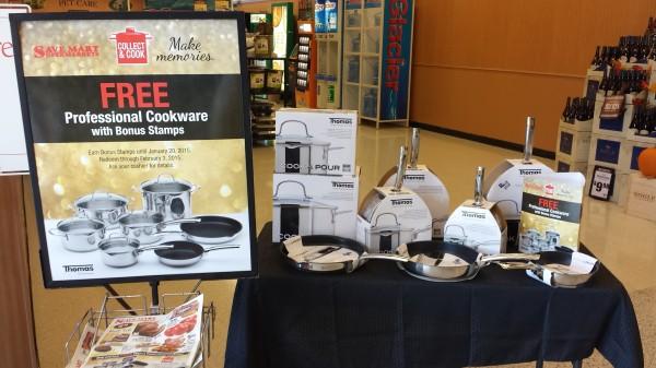 Thomas Cookware Display at Save Mart