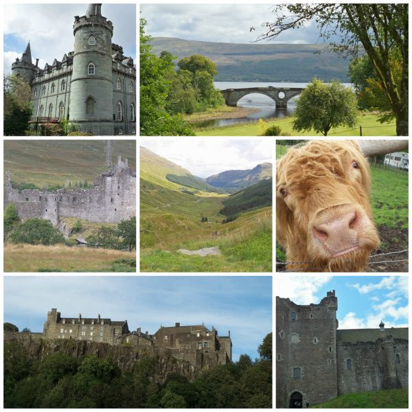 Scotland Highlands and Castles