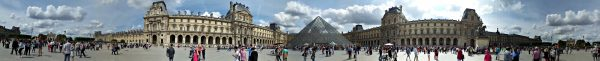 The Louvre Panoramic View