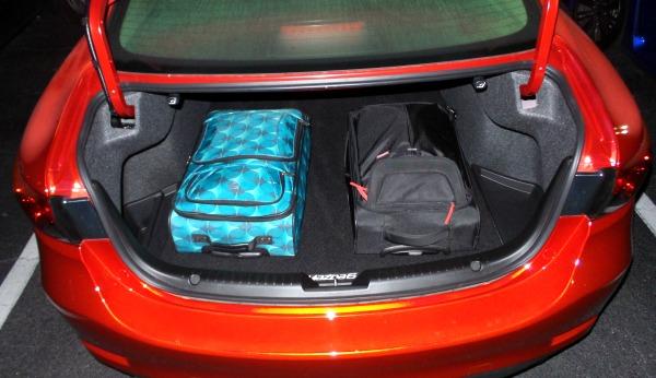 2015 Mazda 6 Trunk