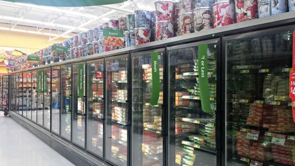 Walmart Frozen Entree Aisle