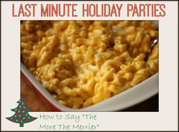 Last Minute Holiday Parties