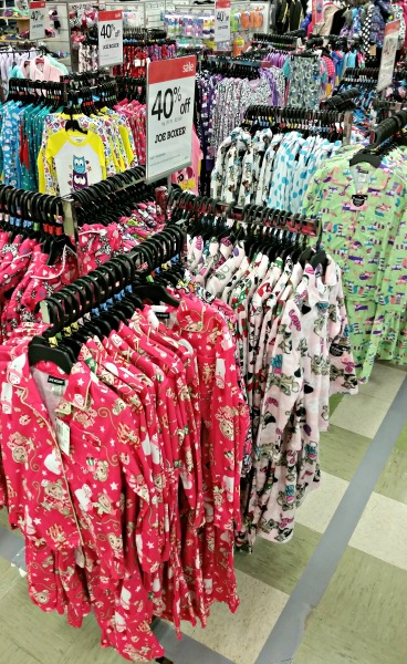 Joe Boxer Pajamas at Kmart