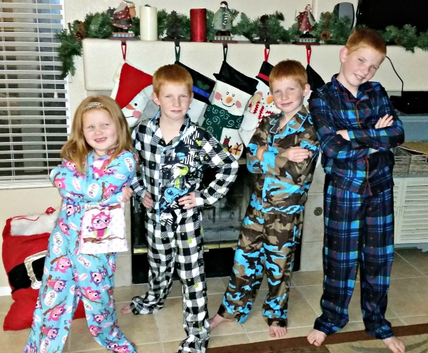 Joe Boxer Pajamas from Kmart