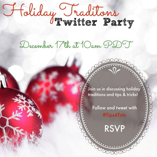 Holiday Traditions Twitter Party