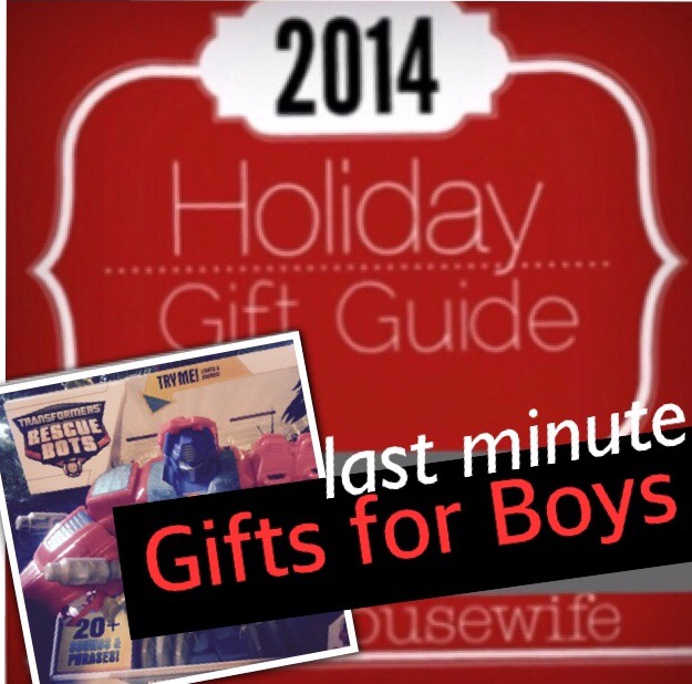 2014 Holiday Gift Guide: Last Minute Gifts For Boys 4-12 + Giveaway