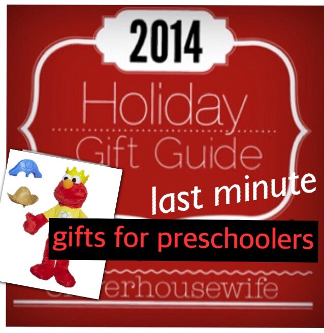 2014 Holiday Gift Guide: Last Minute Gifts For Preschoolers aged 1-4 + Giveaway