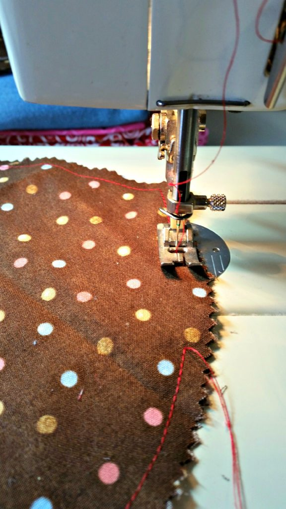 Sewing a Fabric Heart