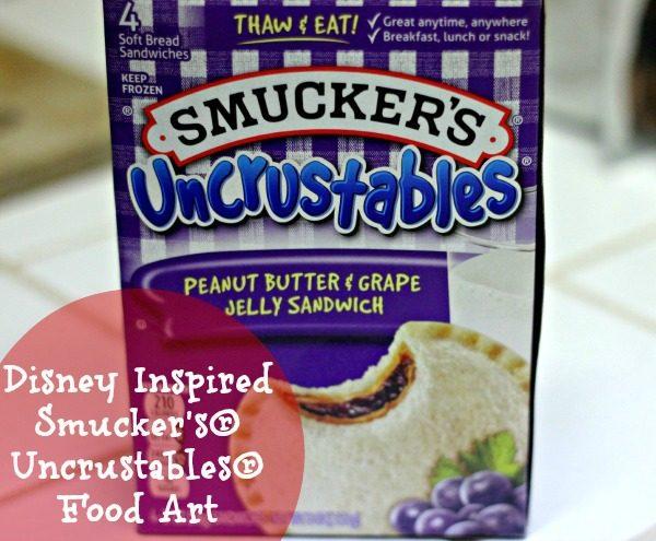 Disney Inspired Smuckers Uncrustables Food Art Contest